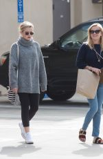 REESE WITHERSPOON and AVA PHILLIPPE Out in Los Angeles 10/29/2017