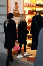 REESE WITHERSPOON and AVA PHILLIPPE Out Shopping in Paris 11/22/2017