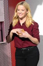REESE WITHERSPOON at Sprinkles Cupcakes ATM Machine in Beverly Hills 11/15/2017