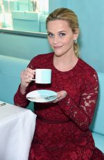 REESE WITHERSPOON at Tiffany & Co Holiday Breakfast in New York 11/29/2017