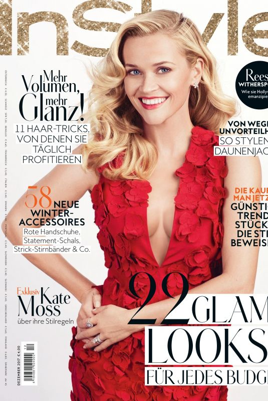 REESE WITHERSPOON in Instyle Magazine, Germany December 2017
