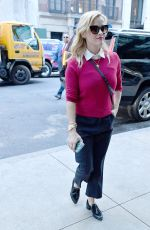 REESE WITHERSPOON Out and About in New York 11/02/2017