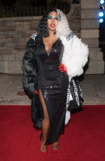 REMY MA at Chris Brown Album Release Party in Universal Studios 10/31/2017