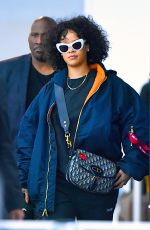 RIHANNA at JFK Airport in New York 11/05/2017