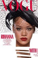 RIHANNA for Vogue Paris, December 2017/January 2018