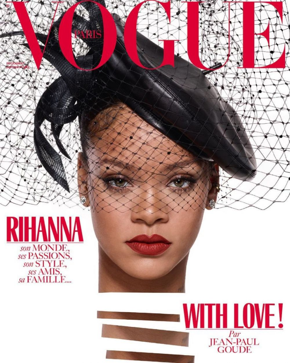 rihanna in vogue magazine december 2017 january 2018 hawtcelebs. Black Bedroom Furniture Sets. Home Design Ideas