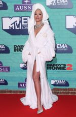 RITA ORA at 2017 MTV Europe Music Awards in London 11/12/2017