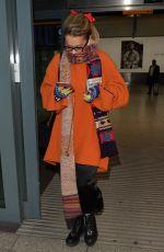 RITA ORA at Heathrow Airport in London 11/04/2017