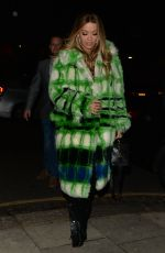 RITA ORA Night Out in Notting Hill 11/12/2017