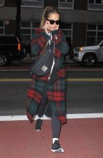 RITA ORA Out and About in New York 11/01/2017