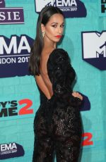 RITA PEREIRA at 2017 MTV Europe Music Awards in London 11/12/2017