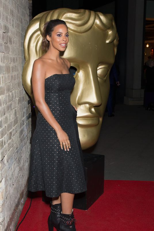 ROCHELLE HUMES at Bafta Children's Awards 2017 in London 11/26/2017