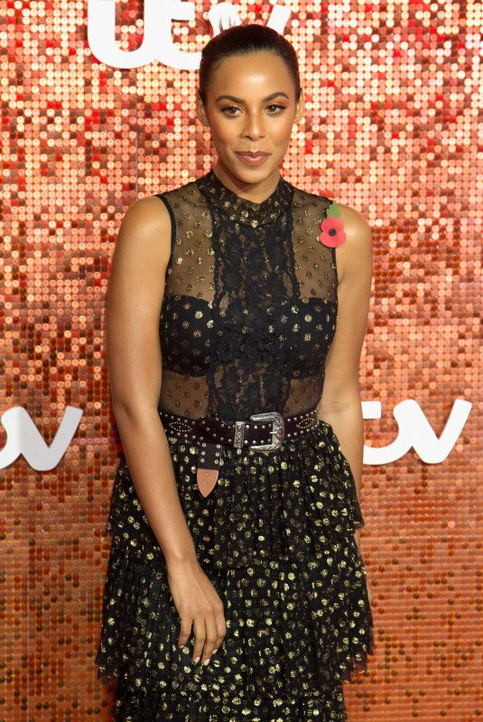 ROCHELLE HUMES at ITV Gala Ball in London 11/09/2017