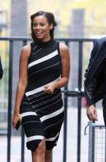 ROCHELLE HUMES at ITV Studio in London 11/14/2017