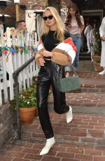 ROMEE STRIJD and NEGIN MIRSALEHI Leaves Ivy in West Hollywood 11/02/2017