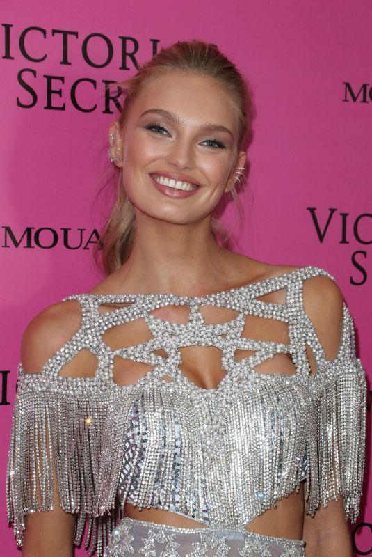 ROMEE STRIJD at 2017 VS Fashion Show After Party in Shanghai 11/20/2017