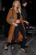 ROMEE STRIJD at Catch LA in West Hollywood 11/04/2017