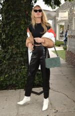 ROMEE STRIJD Out and About in West Hollywood 11/02/2017