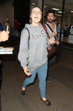 RONDA ROUSEY at LAX Airport in Los Angeles 11/07/2017