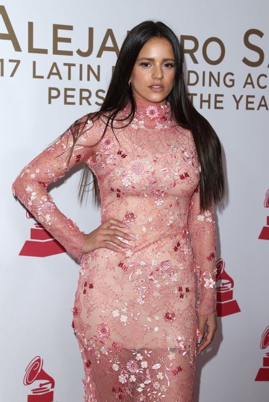 ROSALIA at 2017 Latin Recording Academy Person of the Year Awards in Las Vegas 11/15/2017