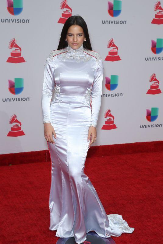 ROSALIA at Latin Grammy Awards 2017 in Las Vegas 11/16/2017