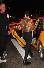 ROSE MCGOWAN Out for Dinner at Locanda Verde in New York 11/02/2017