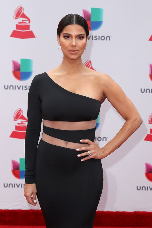 ROSELYN SANCHEZ at Latin Grammy Awards 2017 in Las Vegas 11/16/2017