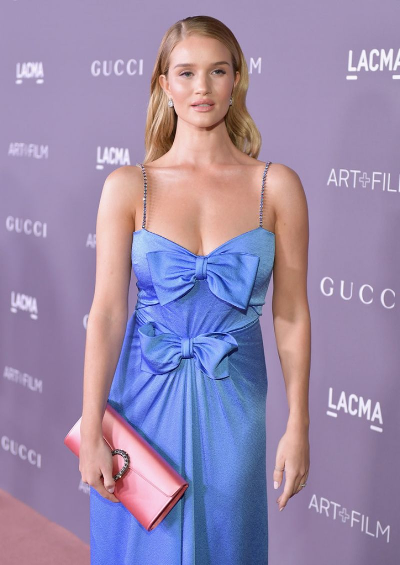 ROSIE HUNTINGTON-WHITELEY at 2017 LACMA Art + Film Gala in ...