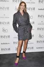 ROSIE HUNTINGTON-WHITELEY at Bazaar at Work VIP Cocktail Party in London 11/15/2017