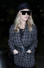 ROSIE HUNTINGTON-WHITELEY at Los Angeles International Airport 11/02/2017