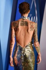 RUBY ROSE at 51st Annual CMA Awards in Nashville 11/08/2017