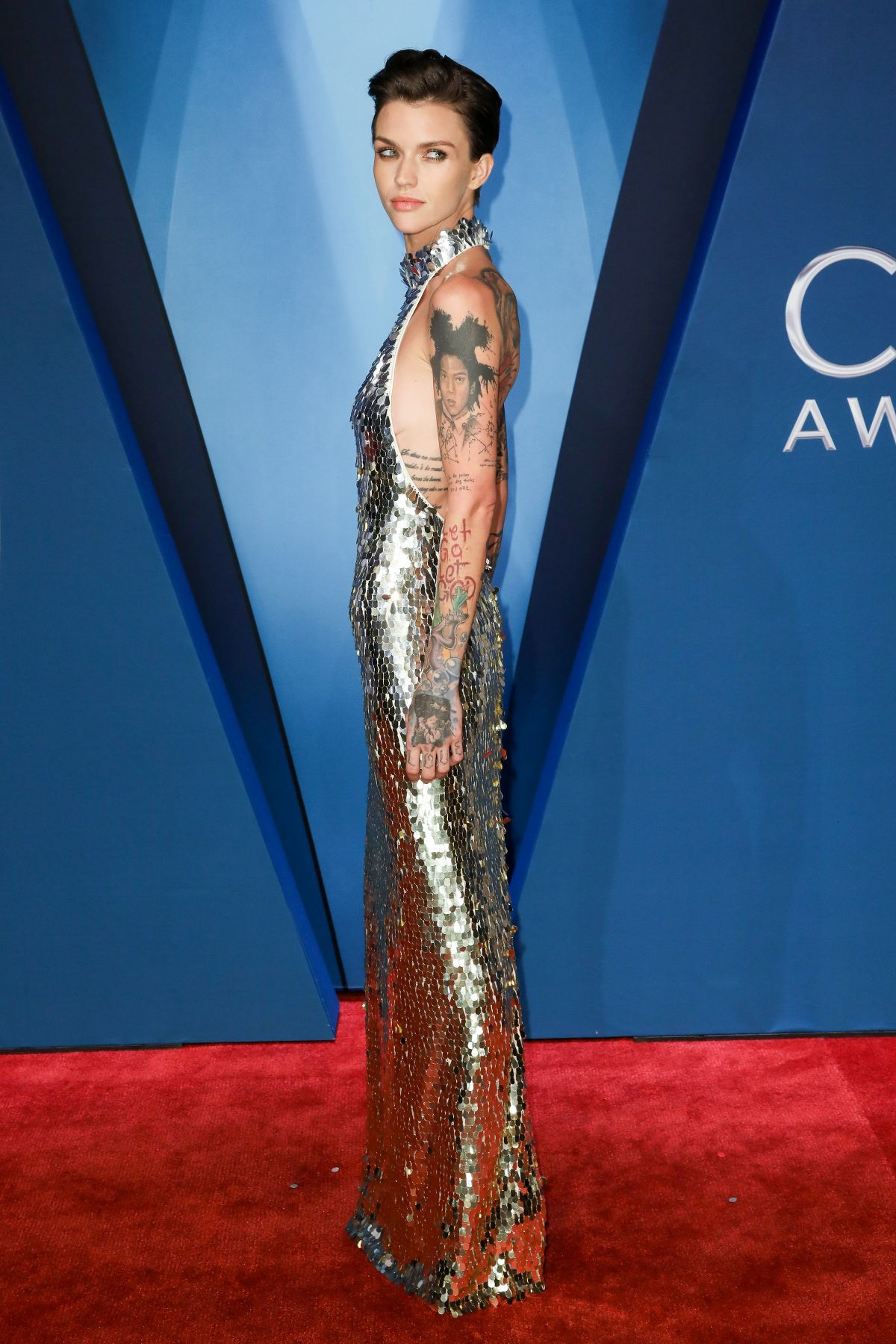 Ruby Rose At 51st Annual Cma Awards In Nashville 11 08