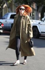 RUMER WILLIS Out and About in West Hollywood 11/17/2017