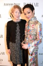 RUTH NEGGA at Harper's Bazaar Women of the Year Awards in London 11/02/2017