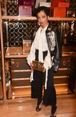 RUTH NEGGA at Louis Vuitton x Vogue Party in London 11/21/2017
