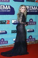 SABRINA CARPENTER at 2017 MTV Europe Music Awards in London 11/12/2017