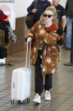 SABRINA CARPENTER at Los Angeles International Airport 11/24/2017