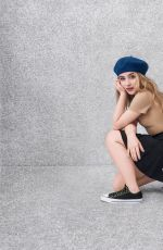 SABRINA CARPENTER for Converse Forever Chuck Ad Campaign 2017