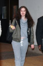 SABRINA CLAUDIO Arrives at MTV's TRL in New York 11/21/2017