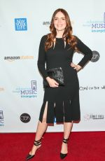 SAFFRON BURROWS at Education Through Music Los Angeles Gala 11/29/2017