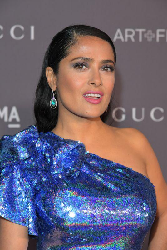SALMA HAYEK at 2017 LACMA Art + Film Gala in Los Angeles 11/04/2017