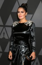 SALMA HAYEK at AMPAS 9th Annual Governors Awards in Hollywood 11/11/2017