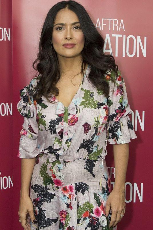 SALMA HAYEK at Beatriz at Dinner Screening in Hollywood 11/15/2017