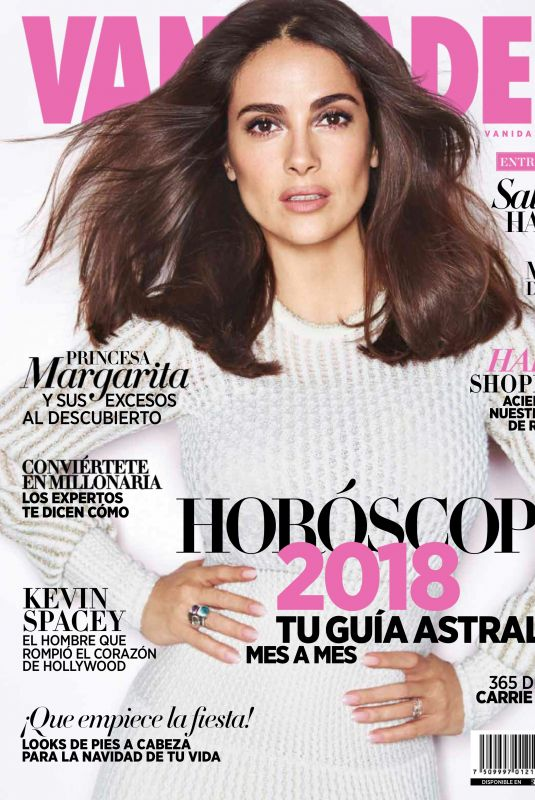 SALMA HAYEK in Vanidades Magazine, Mexico November 2017