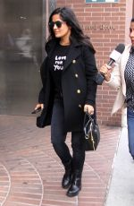 SALMA HAYEK Out in Beverly Hills 11/01/2017