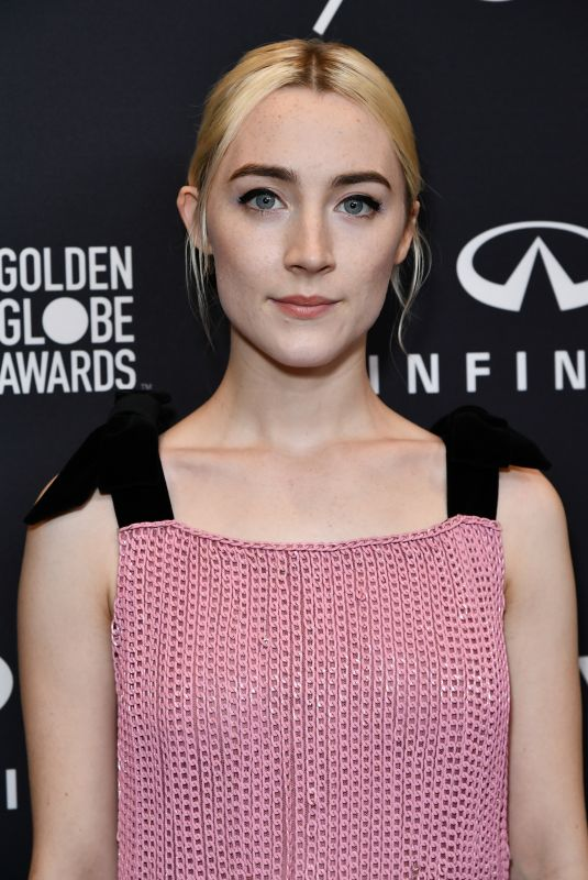 SAOIRSE RONAN at HFPA & Instyle Celebrate 75th Anniversary of the Golden Globes in Los Angeles 11/15/2017