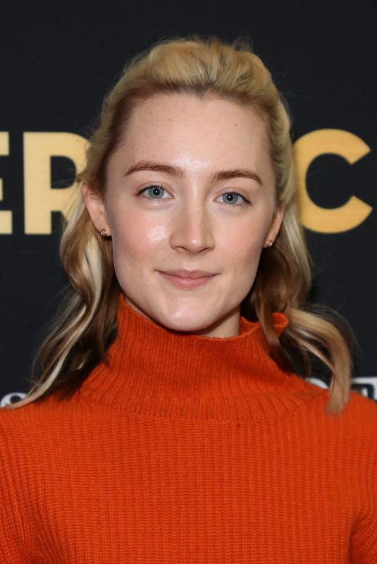 SAOIRSE RONAT at Deadline Hollywood The Contenders 2017 in Los Angeles 11/04/2017