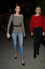 SARA and ERIN FOSTER at Maxfield in West Hollywood 11/09/2017