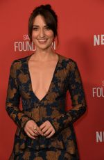SARA BAREILLES at Sag-Aftra Foundation Patron of the Artists Awards in Beverly Hills 11/09/2017