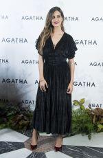 SARA CARBONERO Promotes Agatha Paris Saudade in Madrid 11/15/2017